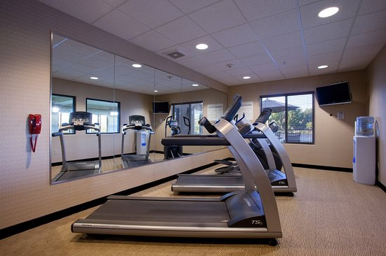 Silt, CO: Our state of the art fitness center has a great view!