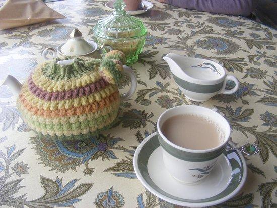 Collingwood, Nova Zelândia: Beautifully-presented tea service