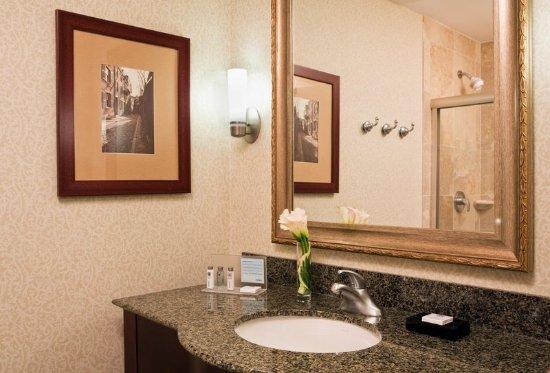 Hampton Inn Boston Natick: Guest Bathroom