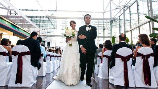 Omni Austin Hotel Downtown: Wedding Ceremony