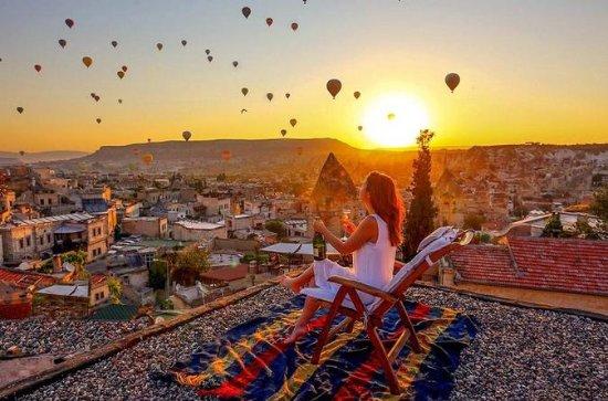2 jours en Cappadoce depuis Istanbul incluant un vol en montgolfière