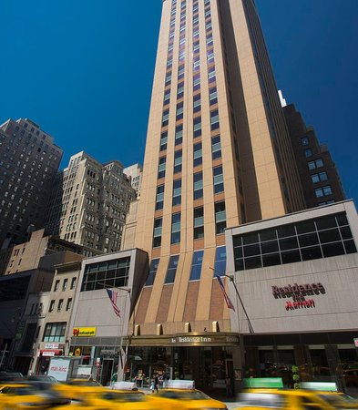 Residence inn new york manhattan times square updated for Residence a manhattan new york