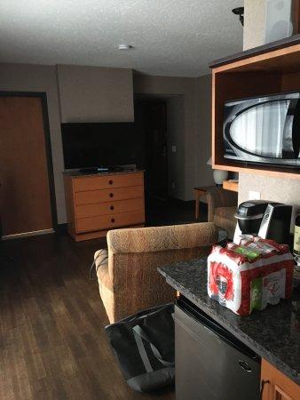 "Best Western Pocaterra Inn: Room 408 Executive King on ""Adults Only"" floor"