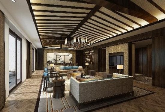 Longmen County, Kina: Living Area of Presidential Suite