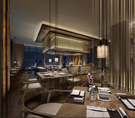 Japanese restaurant photo de hilton quanzhou riverside for Accord asian cuisine