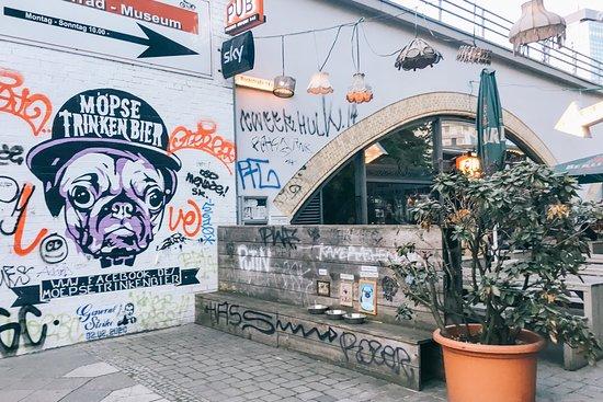 The Pub: outside