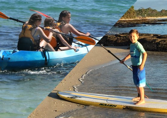 Huskisson, Australië: Stand Up Paddle and Kayak with Jervis Bay Kayaks!