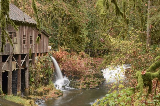Cedar Creek Grist Mill, Woodland, Washington