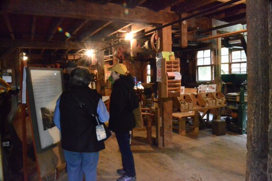 Woodland, Вашингтон: Inside the grist mill