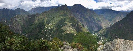 Belmond Sanctuary Lodge : View from Huayna Picchu