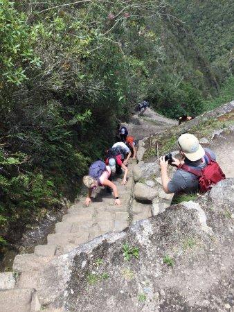 Belmond Sanctuary Lodge : A stroll up Huayna Picchu