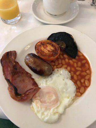 Hartington, UK: Full English breakfast