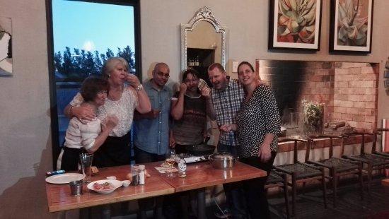 Riebeek-West, Sydafrika: Eating their spoils