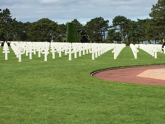 Colleville-sur-Mer, France : The cemetery
