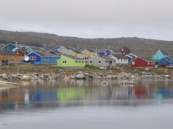 Colourful houses in Nanortalik