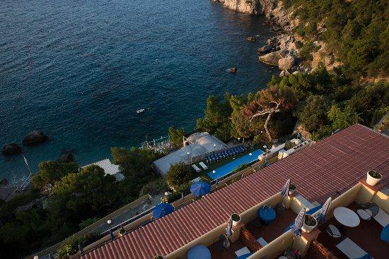 Hotel Weber Ambassador Capri: view of our rooms