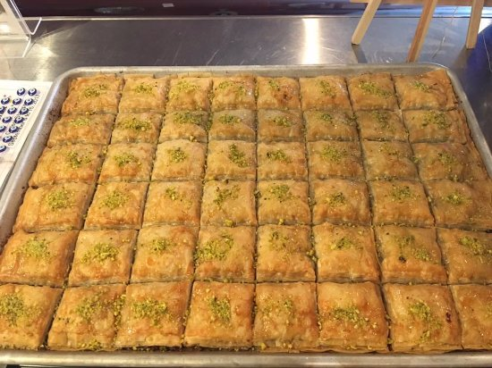 Ladner, Canada: Home made baklava.
