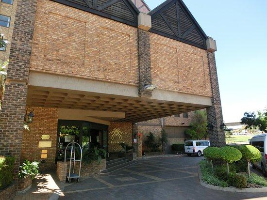 Centurion, Νότια Αφρική: ホテル玄関