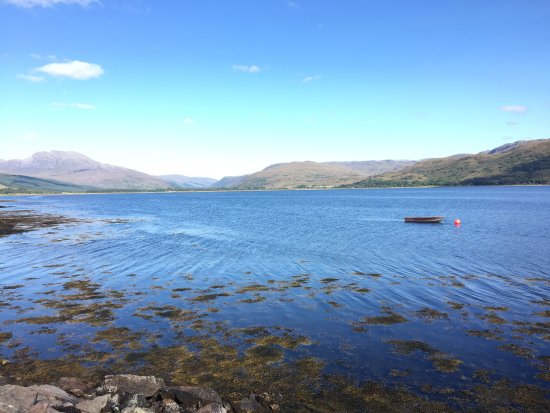 Lochcarron, UK: View along Loch Carron