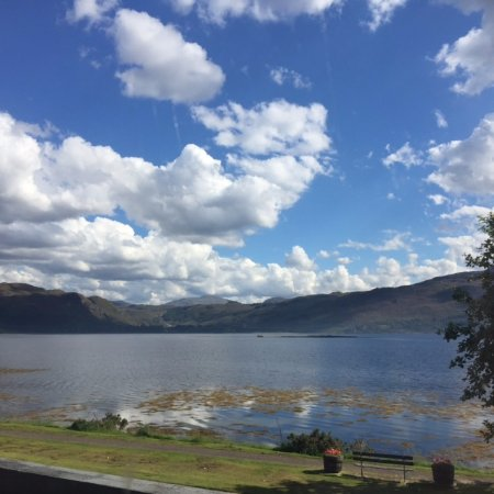 Lochcarron, UK: View from our Twin room