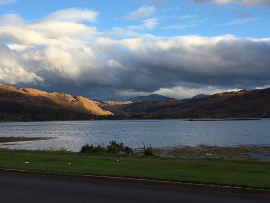 Lochcarron, UK: View from Double Room
