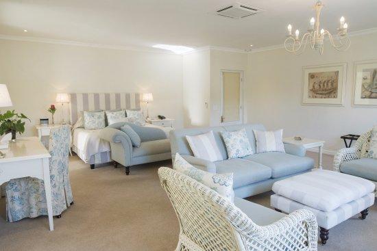 The Last Word Franschhoek: An upstairs luxury suite.