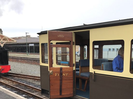 Aberystwyth, UK: Outside of first class cabin