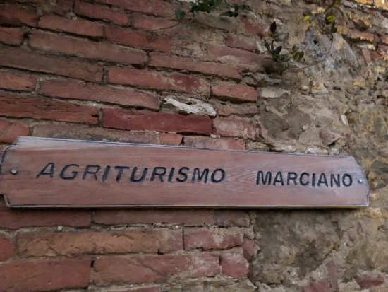 Agriturismo Marciano: The farm stay