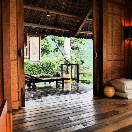 Six Senses Ninh Van Bay: Espace piscine séjour