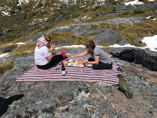 Alpine Adventures: Untouched Back Country tour Picnic lunch Lake Quill