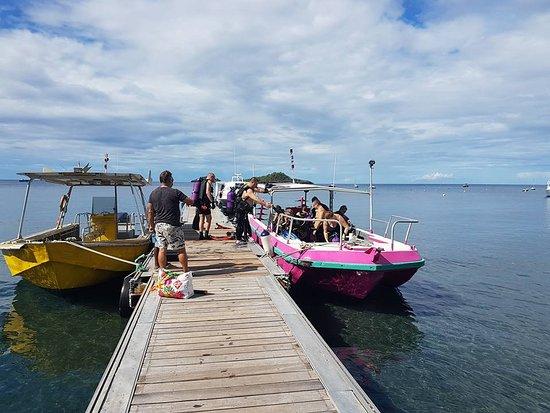 Centre De Plongee Des Ilets: le pontont
