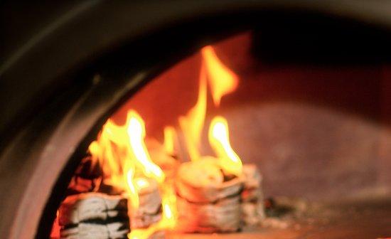 Appledore, UK: Pizza cooking