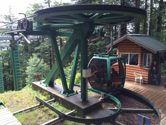 Klamath, Kalifornien: Gondola Ride