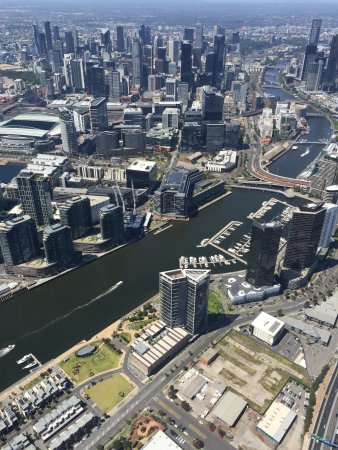 Private 20-Minute Scenic Helicopter Flight of Melbourne