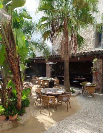 Terras restaurant califa picture of el jardin del califa for El jardin del califa precios
