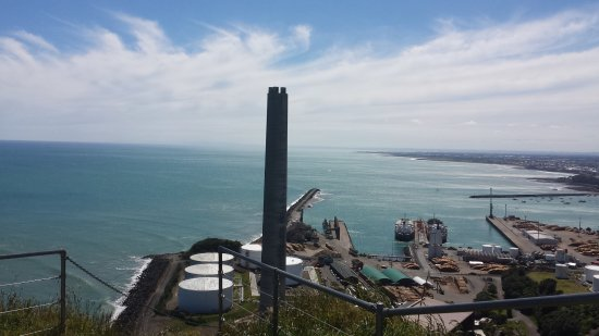 New Plymouth, Nya Zeeland: View at the port