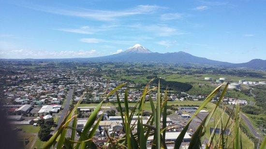 New Plymouth, Nya Zeeland: View of Mt Taranaki