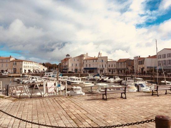 Hotel de Toiras: Hôtel vu du Port