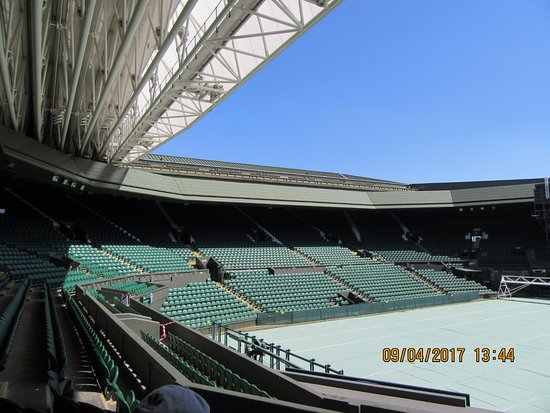 The All England Lawn Tennis Club: centre court