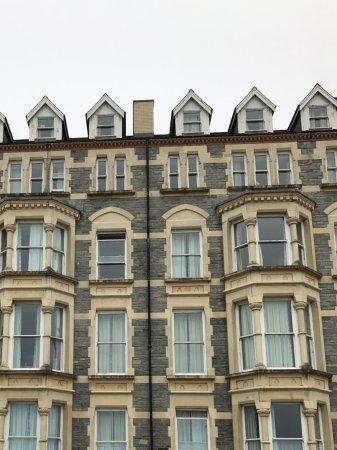 Aberystwyth, UK: Stylish buildinds