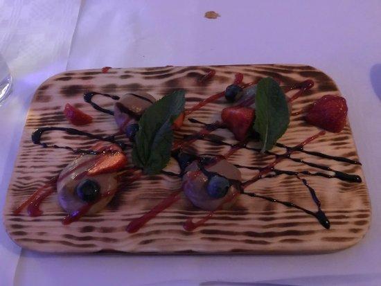 "Norrtalje, Sweden: Dessert ""Johnny Depp"""