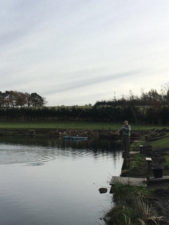 Denny, UK: Wellsfield Trout Fishery