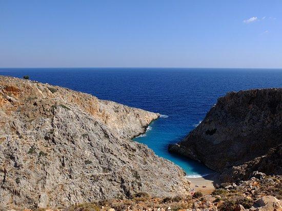 Akrotiri, Greece: la baia