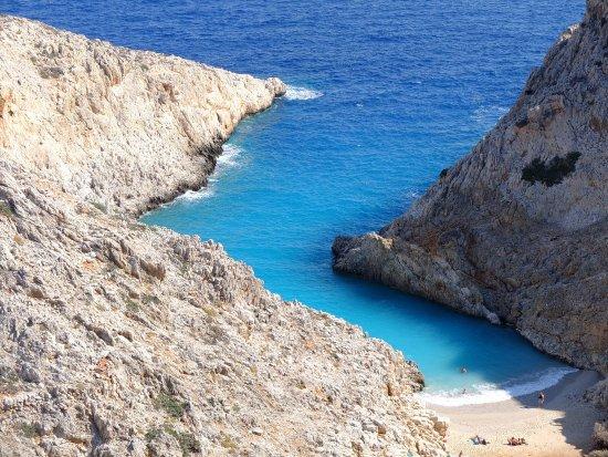 Akrotiri, Greece: la spiaggia