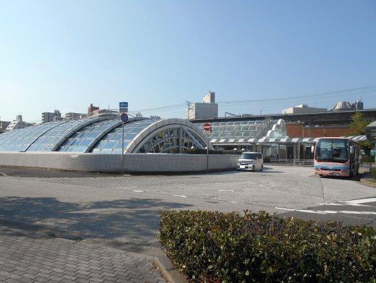 Kobe, Japan: デュオ神戸浜の手のドームの屋根