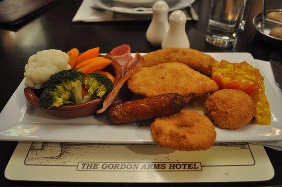 Huntly, UK: Chicken maryland