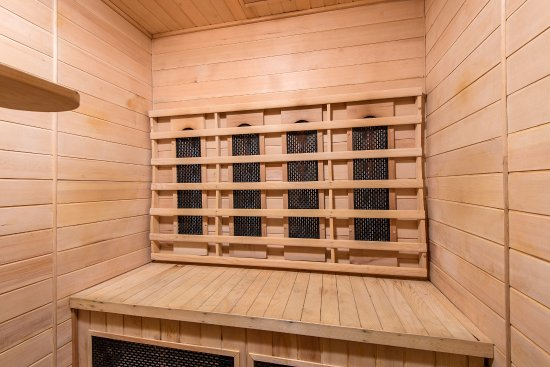 Cookley, UK: Infra-red sauna available in the Gym