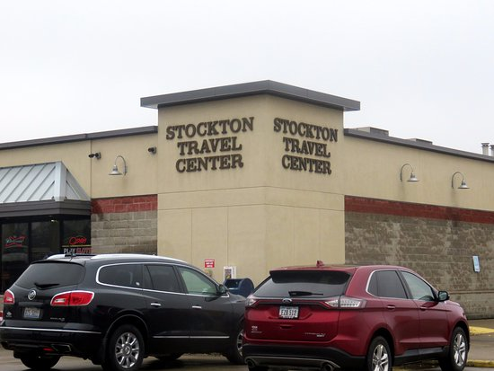 McDonald's is located in the Stockton Travel Center