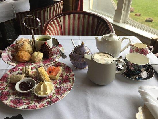 Whakapapa, Nowa Zelandia: High tea