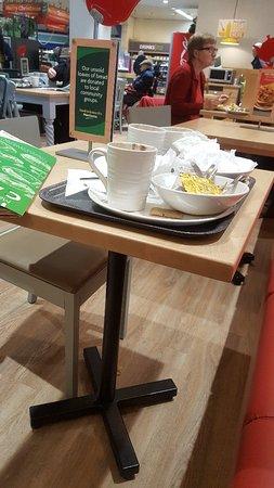 Winsford, UK: Morrisons Cafe